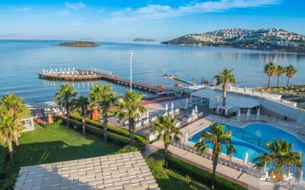 آزور بای یلکن؛ هتلی لوکس و پنج ستاره در شهر بدورم ترکیه، اقامت در ساحل اختصاصی دریای اژه