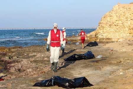 43 مهاجر در سواحل تونس غرق شدند