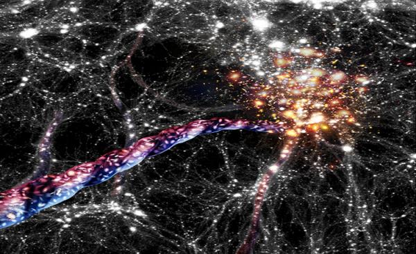 کشف عظیم ترین ساختار کهکشانی در چرخش