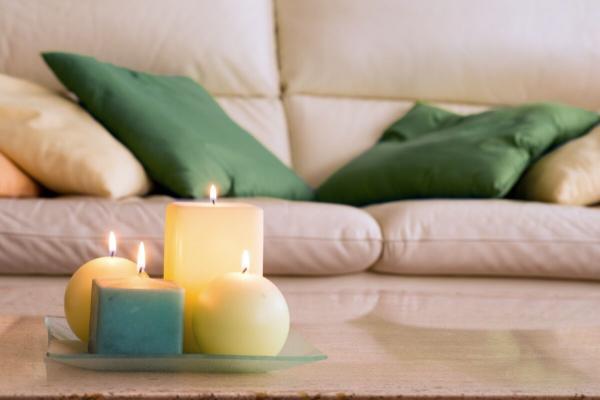چگونه خانه را با شمع تزیین کنیم؟